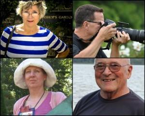 From upper left: Susan Harris, Tom Stovall, Jim Sohn, Kathy Jentz.