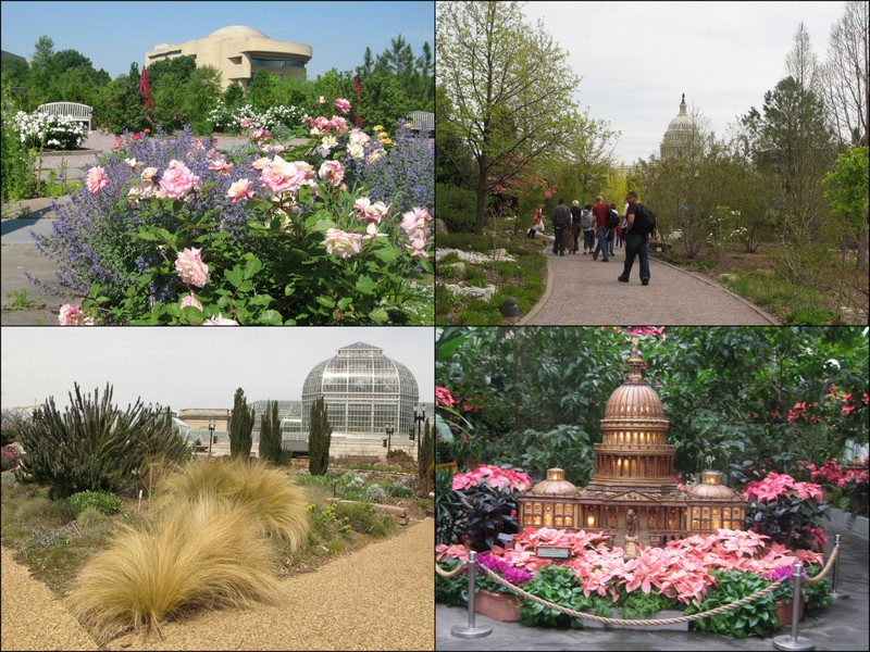 The U.S. Botanic Garden, Located At The Foot Of The Capitol And Managed By  The Architect Of The Capitol, Includes The Conservatory, (click Here To See  ...