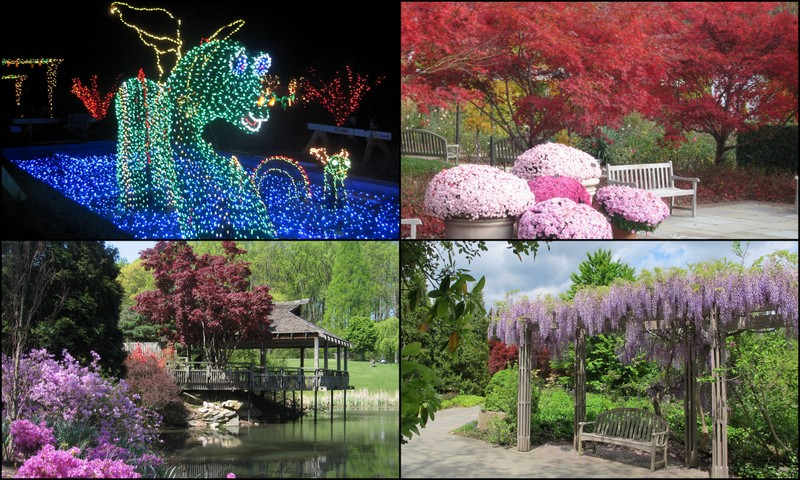 *Brookside Gardens In Wheaton, Maryland