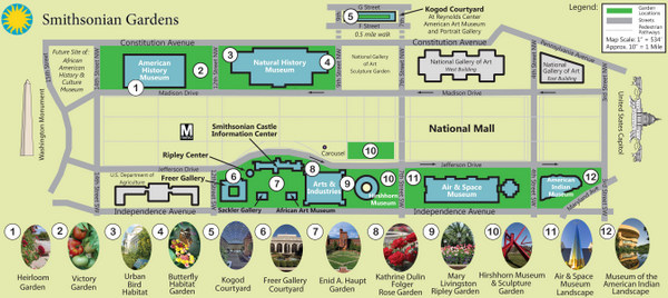 Smithsonian Washington Dc Map.Smithsonian Gardens Dc Gardens