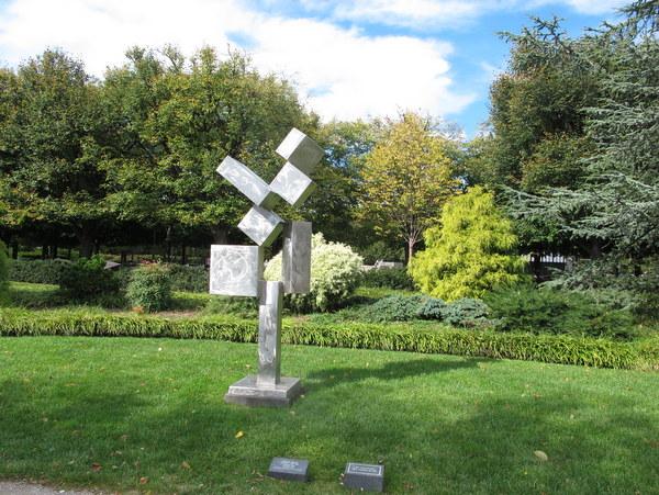 Sculpture Garden At The National Gallery Of Art In October