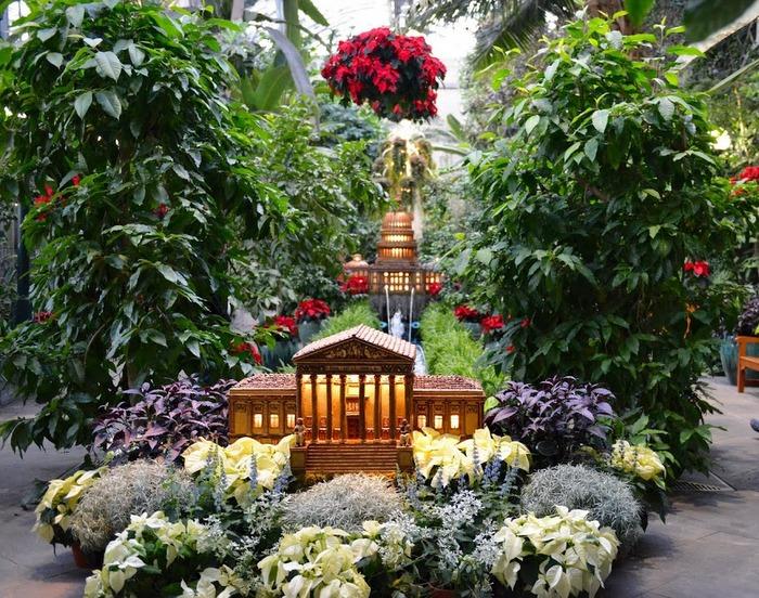 U s botanic garden at the holidays dc gardens for Botanical gardens dc christmas